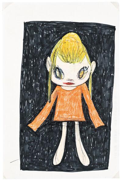 Yoshitomo Nara, 'Girl in Orange Dress'