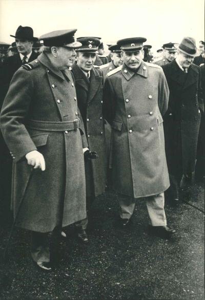 Samary Gurary, 'Winston Churchill Visits Moscow', 1942