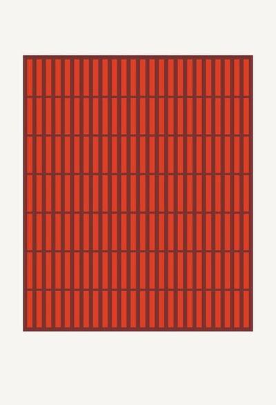 Jordan Ann Craig, 'Orange-Red Dyed Quills; Print', 2019