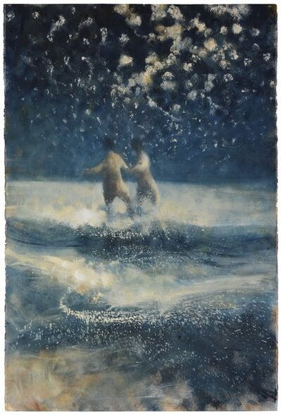 Bill Jacklin, 'Into the Sea at Night with Stars', 2015