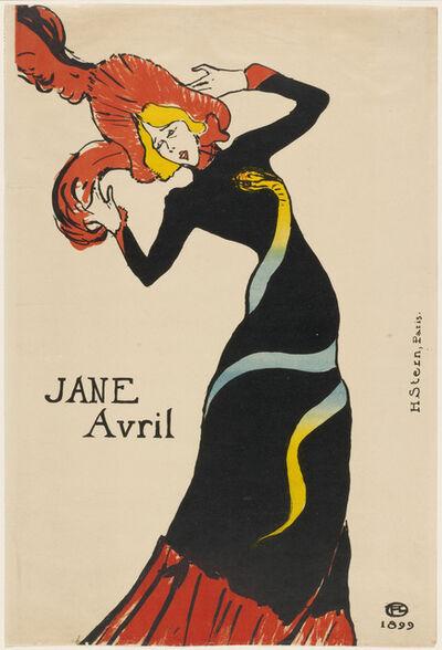 Henri de Toulouse-Lautrec, 'Jane Avril', 1899