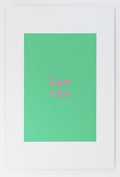 Alex Clarke, 'Right Now', 2018