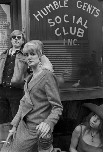 Larry Fink, 'Andy Warhol, East Side Fashion', March 1966