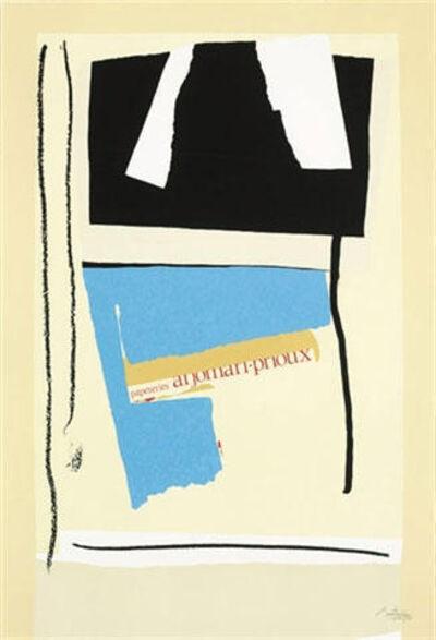 Robert Motherwell, 'America La France Variations V', 1983-1984