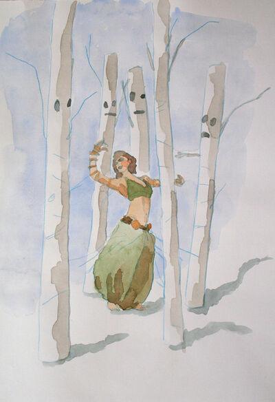 Melanie Daniel, 'Dancer & Trees', 2016