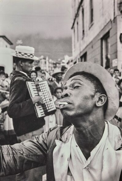 Ian Berry, 'Coon Carnival Capetown', 1961