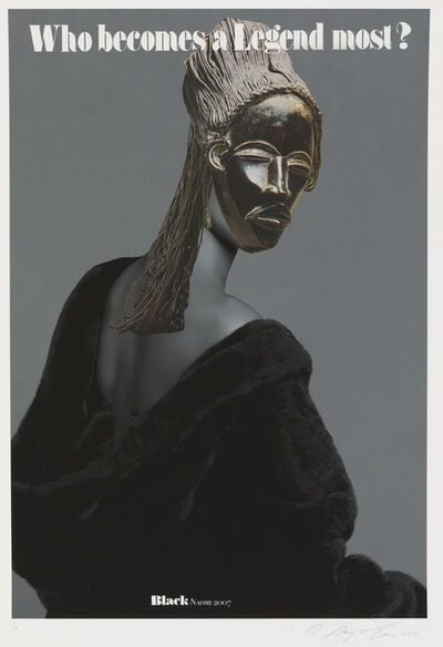 Margaret Rose Vendryes, 'Blackglam Legends: Black Naomi 2007', 2019