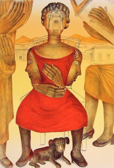 Rodolfo Morales, 'El misterio de tu rostro', 1998