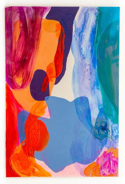 "Debra Drexler, '""Azure Fade""', 2018"
