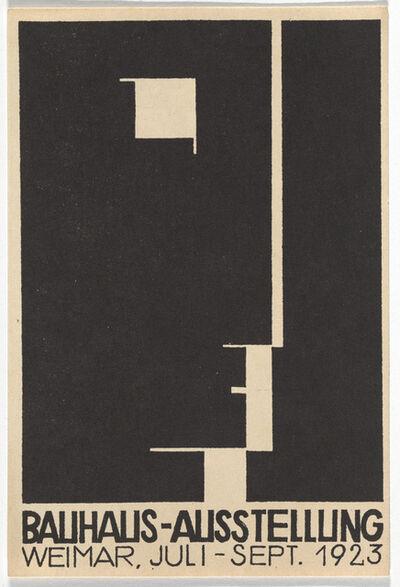 Herbert Bayer, 'Bauhaus Postcard', 1923