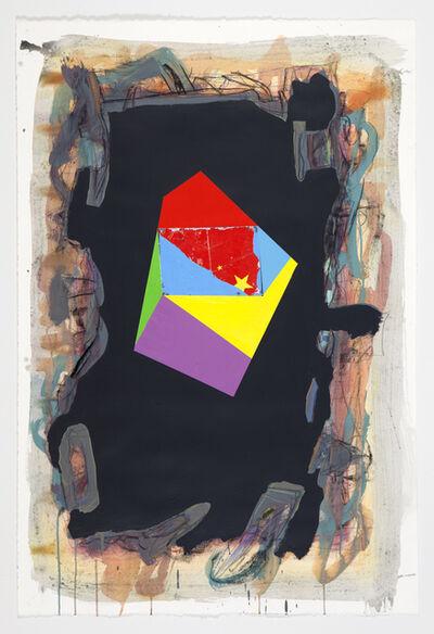 Peter Plagens, 'Black Flag', 2014