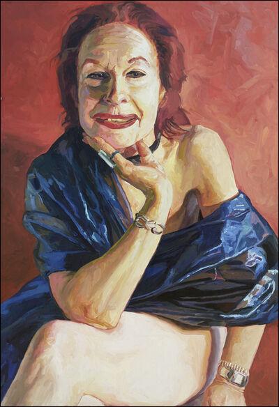 Laura Alexander, 'Olivia, Blue Nude', 2005