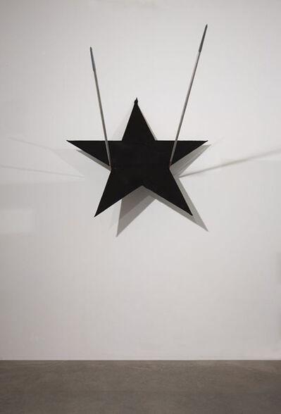 Gilberto Zorio, 'Stella di cuoio su giavelotti', 2007