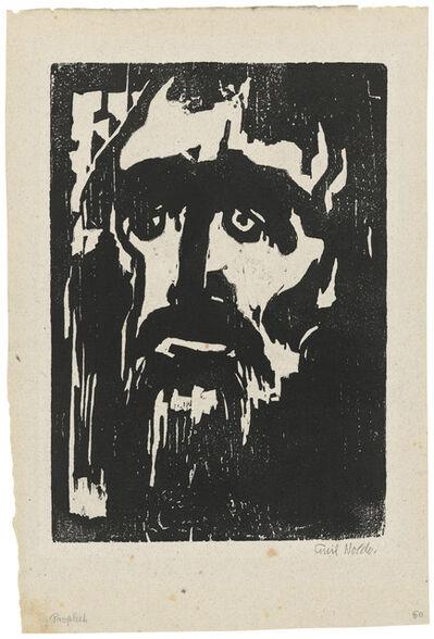 Emil Nolde, 'Prophet', 1912