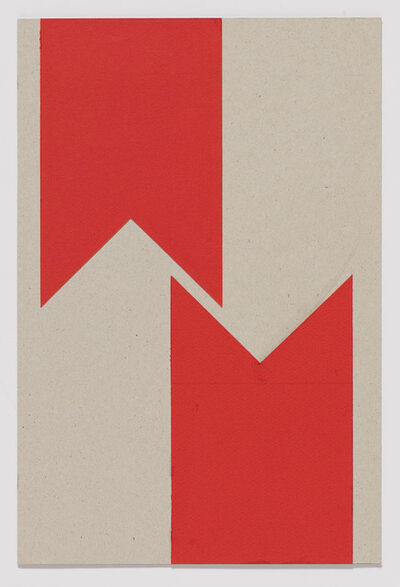 Vera Molnar, '2 Lettres M (du cycle M Comme Malevich)', 1961