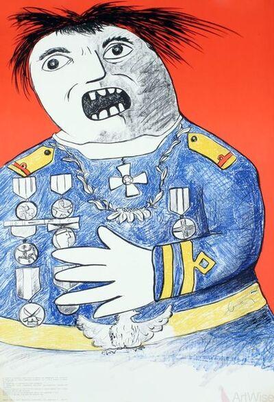 Enrico Baj, 'Homme de Guerre', (Date unknown)