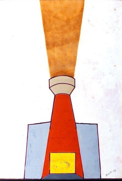 Renato Mambor, 'Untitled - (The oven)', 1989