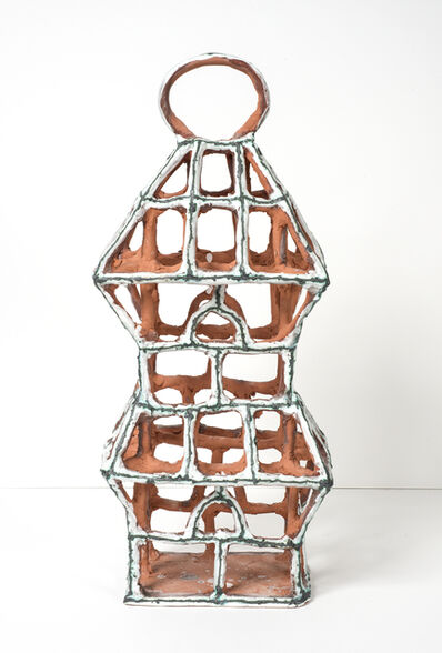Elisabeth Kley, 'Rectangular White Birdcage with Arches', 2015