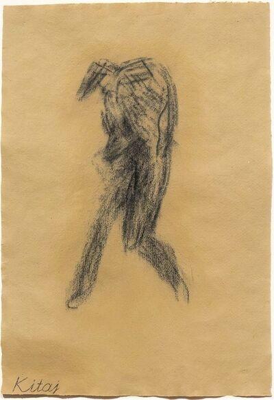 R. B. Kitaj, 'Little Whist Self-Portrait', 2001