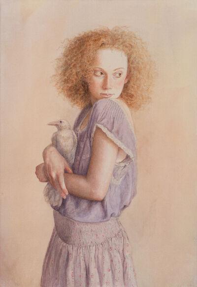 Lauren Mills, 'White Raven', 2014