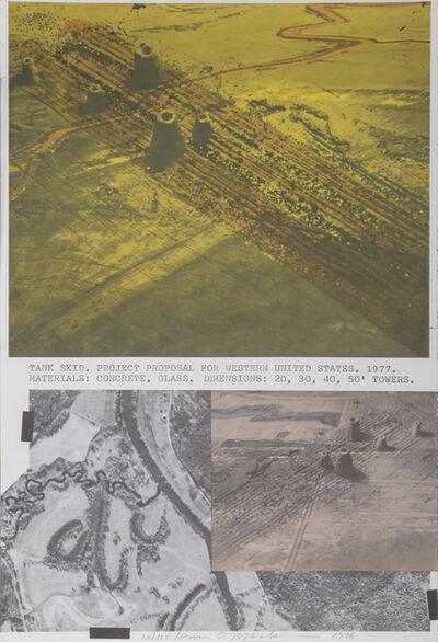 Dennis Oppenheim, 'Tank Skid', 1978