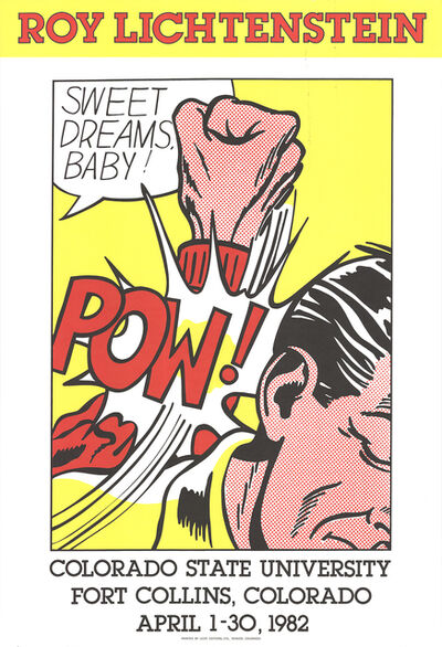 Roy Lichtenstein, 'Sweet Dreams Baby', 1982