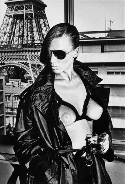 Helmut Newton, 'Gunilla Bergström, Paris', 1976