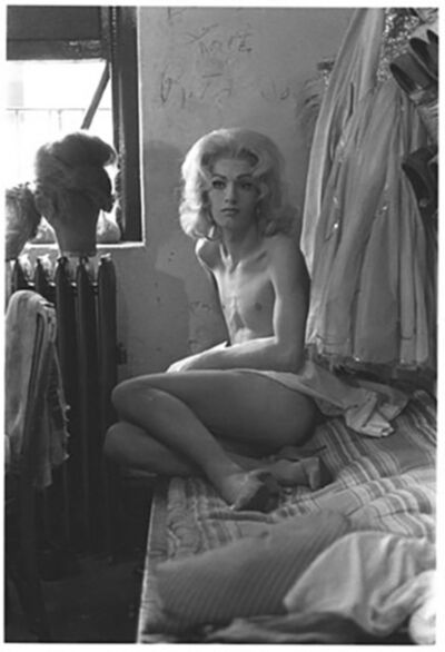 Diane Arbus, 'Diane Arbus Female Impersonator on a Bed, N.Y.C.', 1961