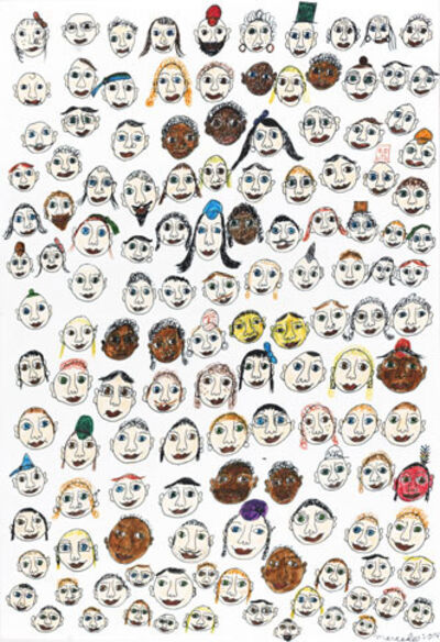Mercedes Kelly, 'Faces of New York', 2014