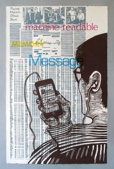 Mary V. Marsh, 'Machine Readable:message, itunes', 2014