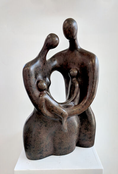Ruth Bloch, 'Gracefullness w/ Two Kids', 2018