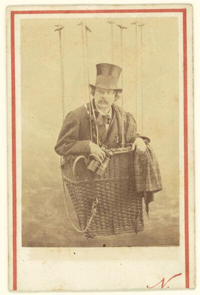 Nadar, 'Felix Nadar in Gondola of a Balloon', 1863