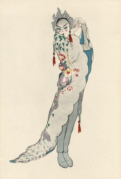 """Walter Schnackenberg, '""""Tschaikiun I"""", Ballet und Pantomime (plate 3)', 1920"""