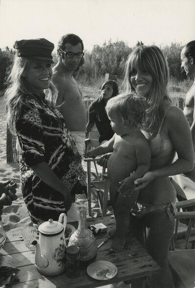 David Hurn, 'Jane Fonda, Roger Vadim and friends', 1968