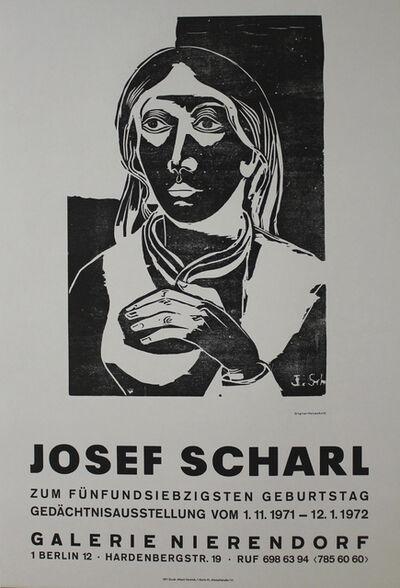 Josef Scharl, 'Mädchenbildnis', 1935