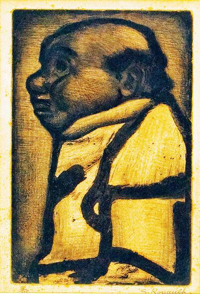 Georges Rouault, 'Homme en profil', 1928