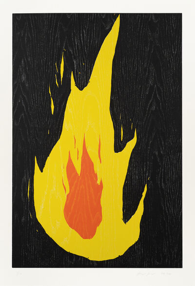 Ragnar Kjartansson, 'Fire 4', 2020