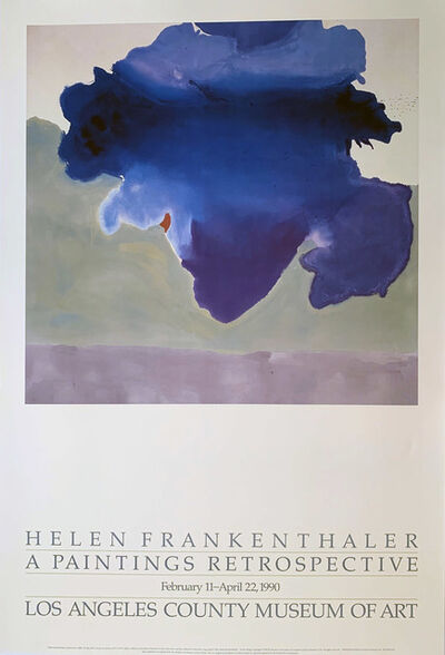 Helen Frankenthaler, 'Helen Frankethaler, A Paintings Retrospective, Los Angeles County Museum of Art', 1990