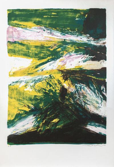 Zao Wou-Ki 趙無極, 'untitled', 1974