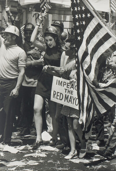 W. Eugene Smith, 'Impeach the Red Mayor'', 1969