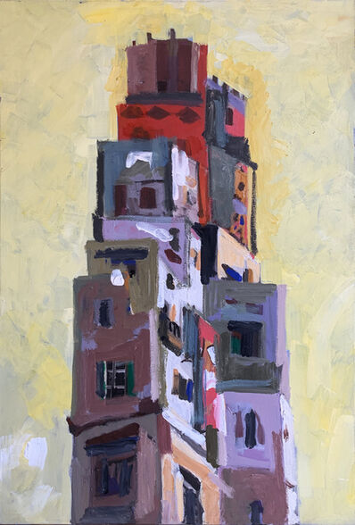Mohamed Abla, 'City towers ', ca. 2010