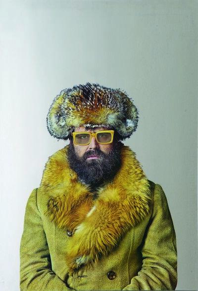 Michelangelo Pistoletto, 'Autoritratto con occhiali gialli ', 1962-1973