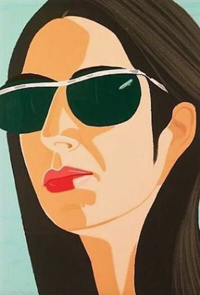 Alex Katz, 'Ada with Sunglasses', 1990