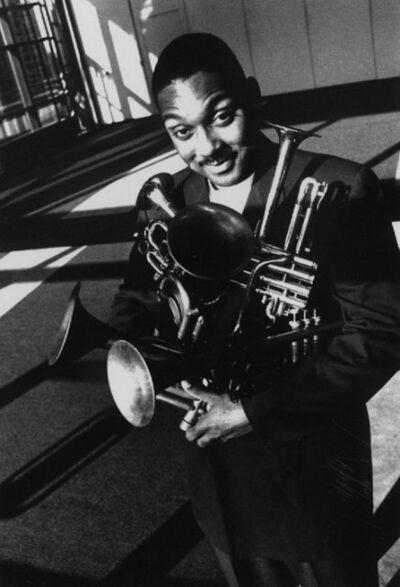 William Claxton, 'Wynton Marsalis, Lincoln Center, New York City', 1993