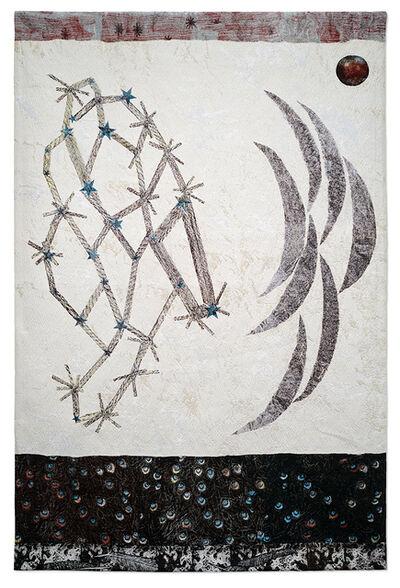 Kiki Smith, 'Visitor (Stars, multiple crescent moons)', 2015