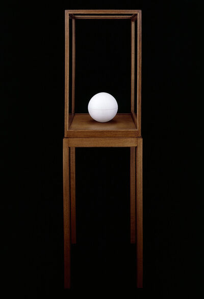 "James Lee Byars, '""The Spherical Book""', 1989"