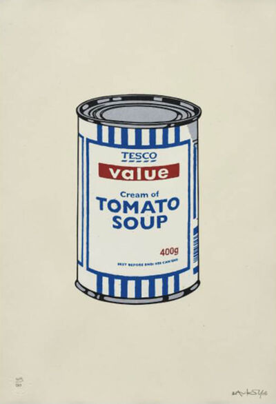 Banksy, 'Soup Can (Original)', 2005