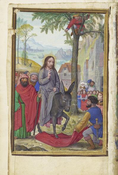 Simon Bening, 'The Entry into Jerusalem', 1525-1530