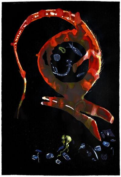 Alexis Rockman, 'Untitled (Gulper)', 2013