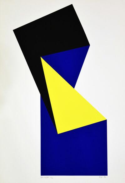 János Fajó, 'Shaped II.', 1989